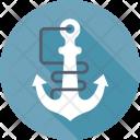 Anchor Marine Sea Icon