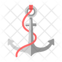 Anchor Sail Sailing Icon