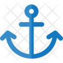 Travel Flat Heavy Nautical Icon