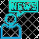 News Anchor User Anchor User Icon