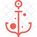 Anchor Sailing Boat Icon