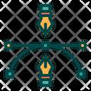Anchor And Pen Icon