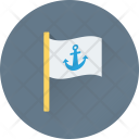 Anchor Flag Ensign Icon