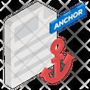 Anchor Text Icon