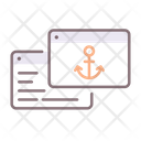Anchor Text Anchor Text Icon