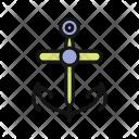 Anchor Text Shape Icon