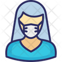 Anchor Girl Lady Icon