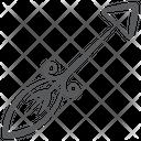 Ancient Arrow Vintage Arrow Game Arrow Icon