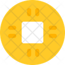 Ancient Chinese Coin Icon