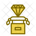Ancient Diamond Diamond Jewelry Icon