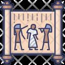 Ancient Egypt Manuscript Icon