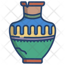 Ancient Jar Antique Jar Elegant Jar Icon
