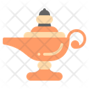Ancient Lamp Arab Icon