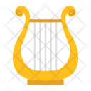 Ancient Greek Lyre Icon