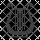 Ancient Lyre Icon