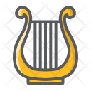 Ancient Greek Lyre Icon
