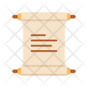 Ancient Scroll Scroll Message Scroll Icon