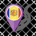 Andorra Flag Icon