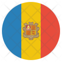 Andorra National Country Icon