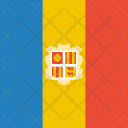 Andorra Flag World Icon