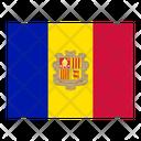 Andorra Flag Flags Icon
