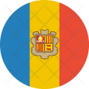 Andorra Flag World Icon