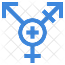 Androgynous Shapes And Symbols Androgyne Icon