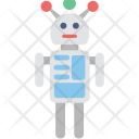 Machine Android Robot Icon