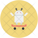 Android Robot Auto Icon