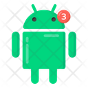 Android Robot Alert Android Alert Icon