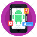 Operating System Mobile App Android Phone Icon