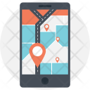 Mobile Gps Software Icon