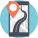 Android GPS Tracker Icon