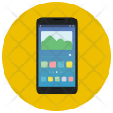 Android Phone Black Icon