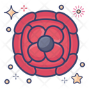 Anemone Wild Rose Natural Flower Icon