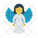 Angel Christmas Heaven Icon