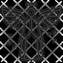 Angel God Lord Icon