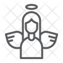 Angel Decoration Peace Icon