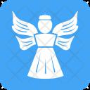 Angel God Prayer Icon