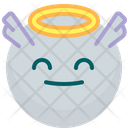 Angel Happy Face Icon