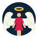 Angel Mother Mom Icon