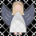 Angel Guardian Angel Christmas Decoration Icon