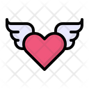 Angel Love Heart Icon