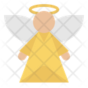 Angel Christmas Wings Icon