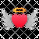 Angel Love Wings Icon