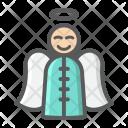 Angel Merry Xmas Icon