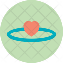 Angel Valentine Heart Icon
