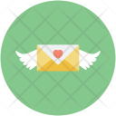 Angel Mail Letter Icon