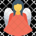 Angel Christmas Fairy Icon