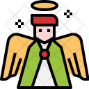 Angel Wings Peace Icon